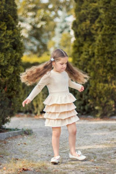 thumbnail Sukienka VEOLIA beżowa