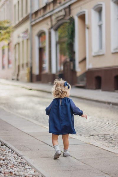 thumbnail Sukienka POSINI granatowa