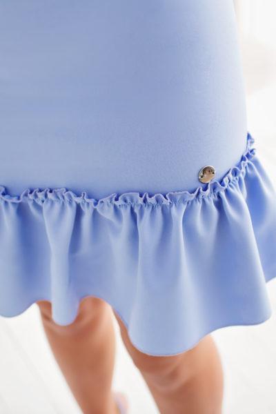 thumbnail Sukienka LILLA błękitna dla mamy