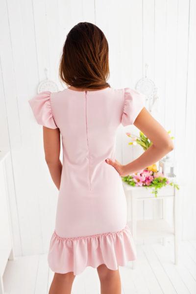 thumbnail Sukienka LILLA różowa dla mamy