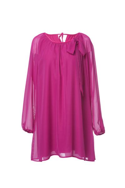thumbnail Sukienka ROSA różowa dla mamy