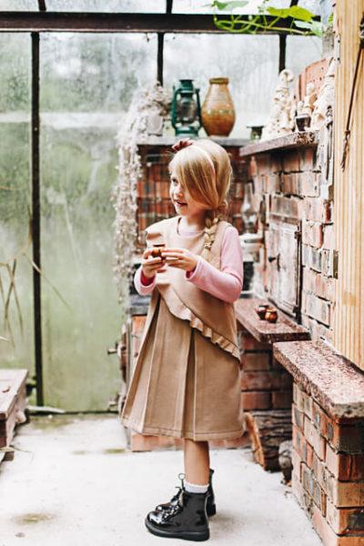 thumbnail Sukienka ABITKA beżowa