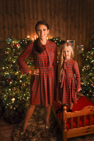 thumbnail Sukienka CYNAMONKA dla mamy