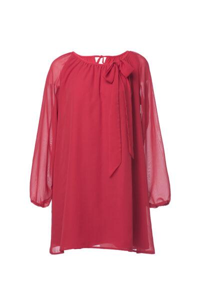 thumbnail Sukienka PREZENCIK czerwona dla mamy